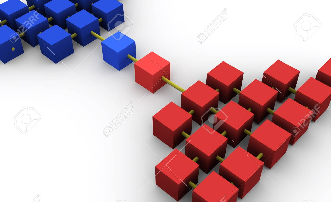 an abstract network Stock Photo - 303196