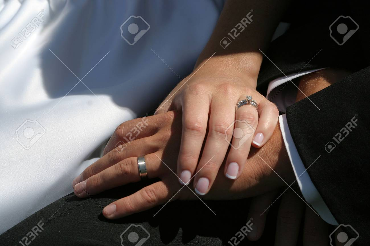 hands display the rings Stock Photo - 305209