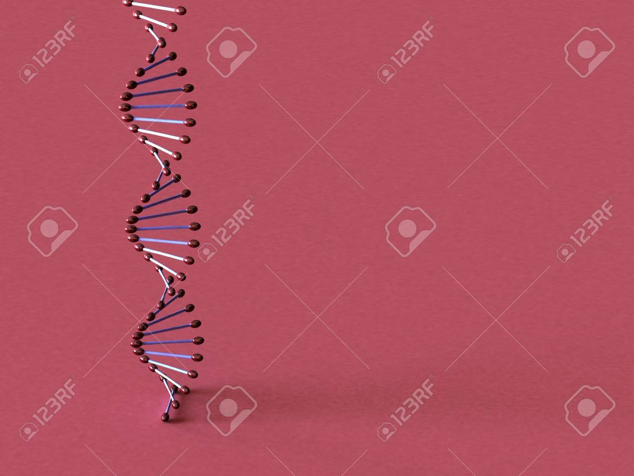 3d dna model Stock Photo - 320111