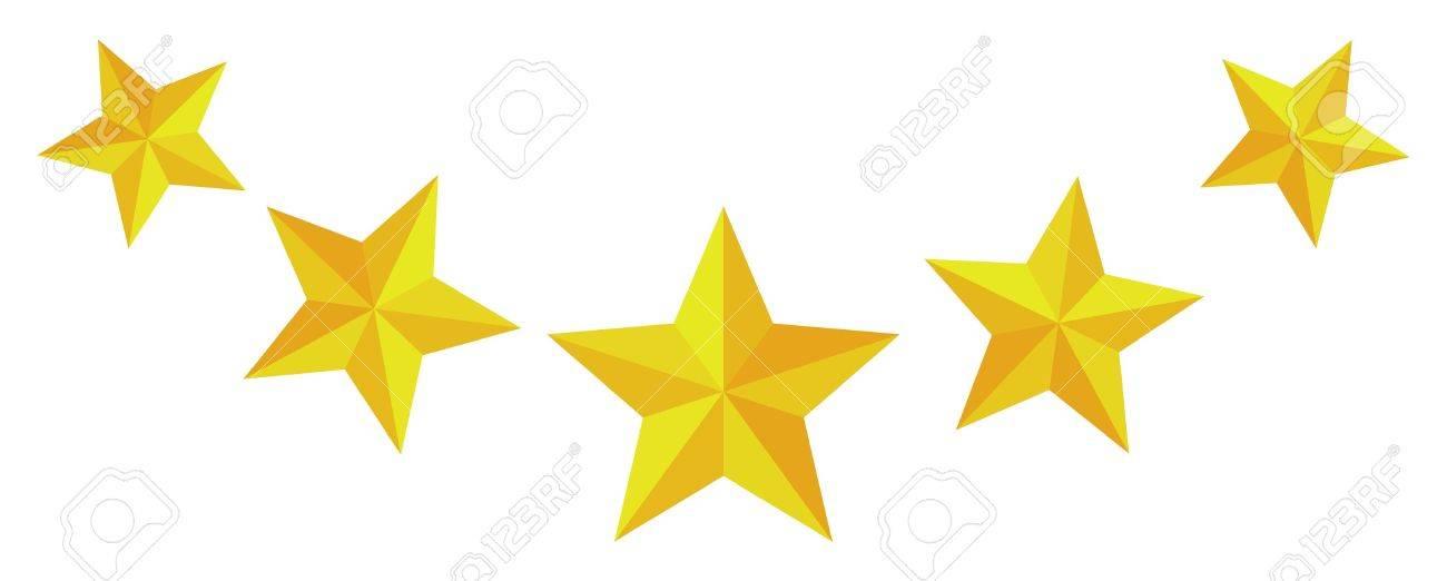 5 つ星 ロイヤリティフリークリ...