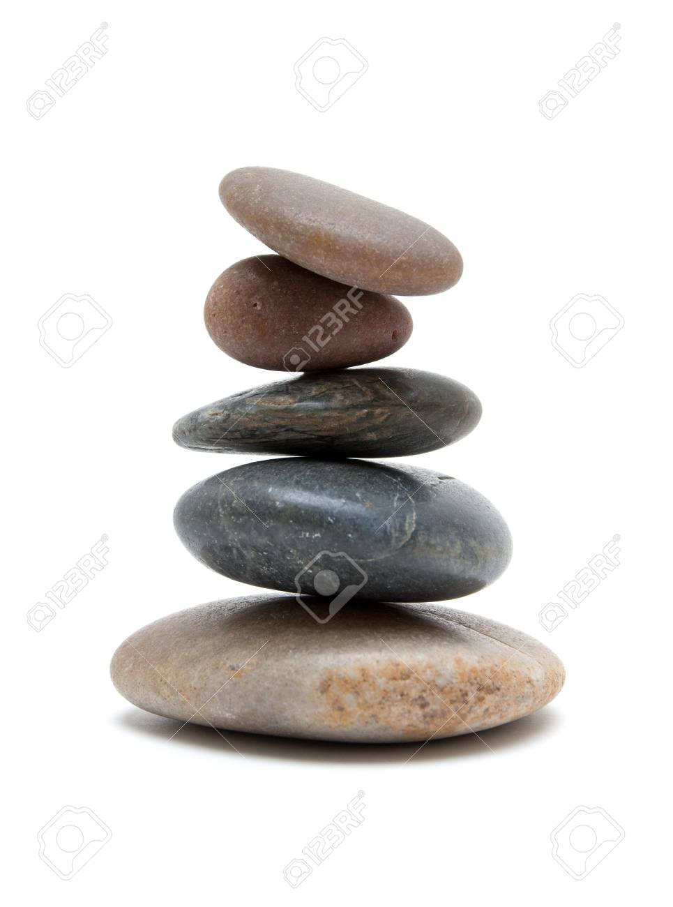 Stones in balanced pile Stock Photo - 18891289