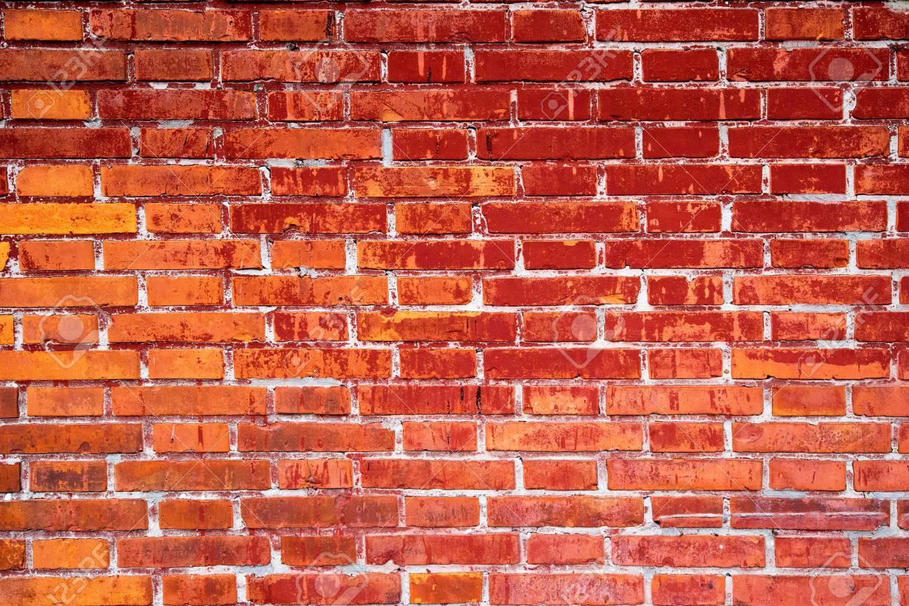 Mur En Brique Rouge fond de mur en brique rouge texturé