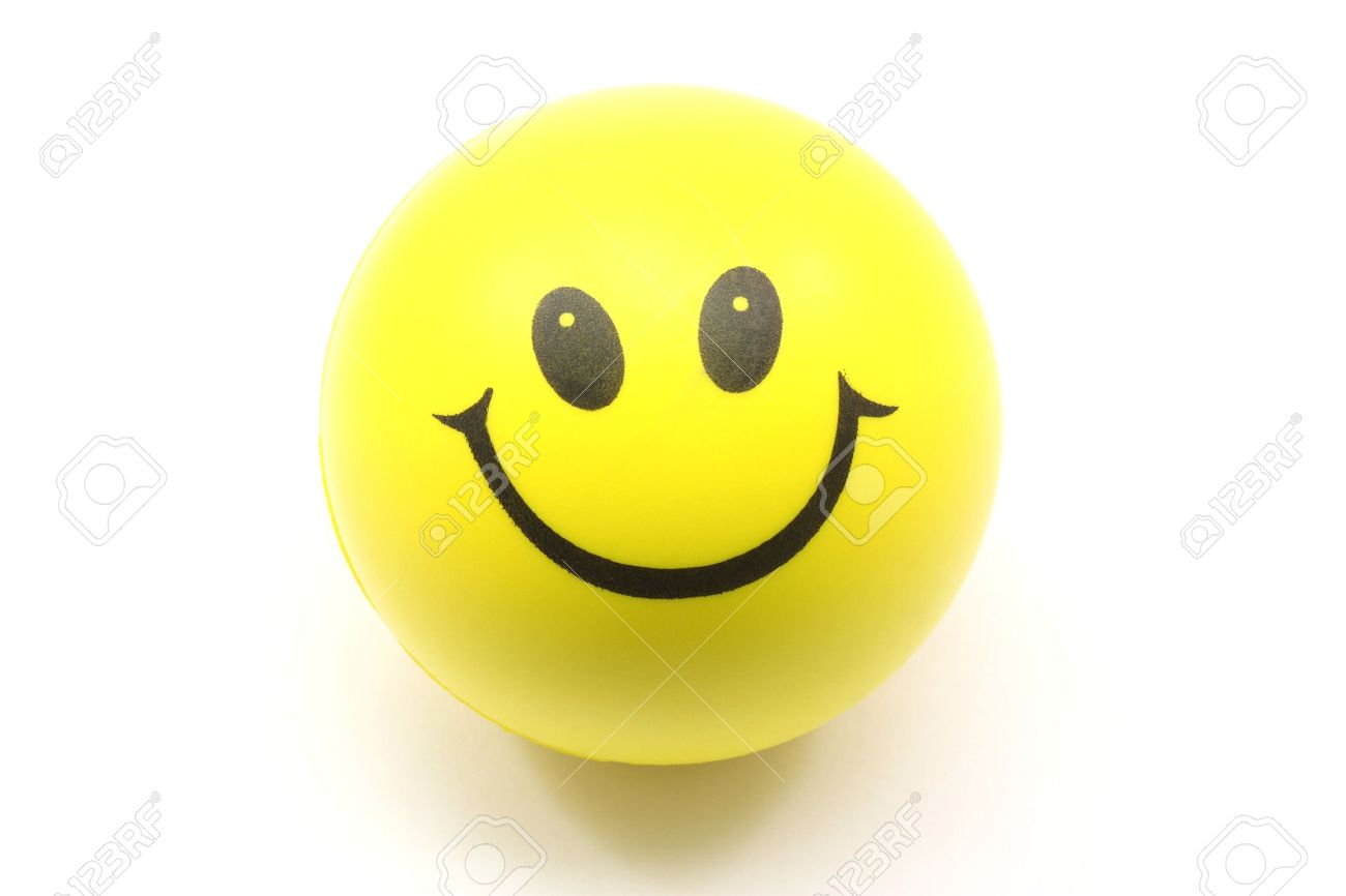 Yellow smiley face stress ball photographed on a white background yellow smiley face stress ball photographed on a white background 5463893 voltagebd Gallery