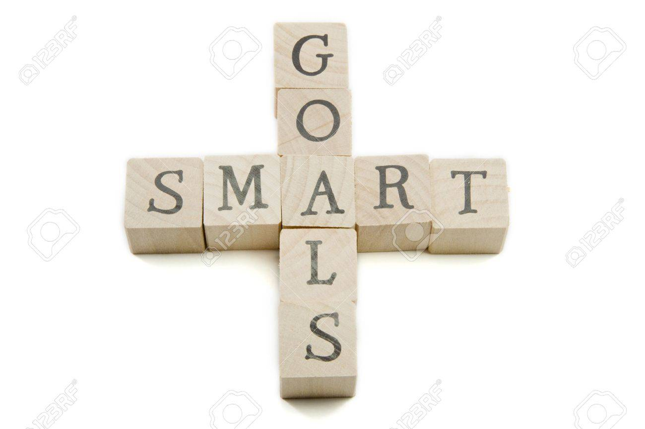 smart goals spelled out on wooden blocks showing smart concept smart goals spelled out on wooden blocks showing smart concept stock photo 9356972