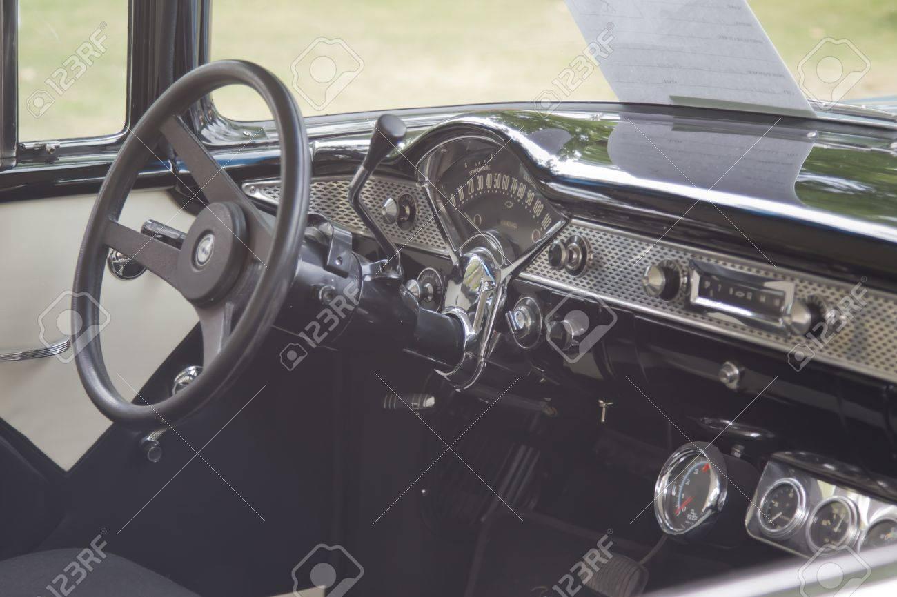 1955 chevy interiors