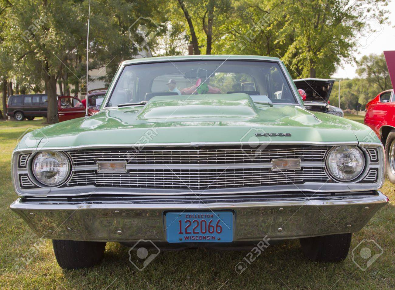 Marion Wi September 16 Front Of 1969 Dodge Dart Car At The Stock Photo Picture And Royalty Free Image Image 15486165