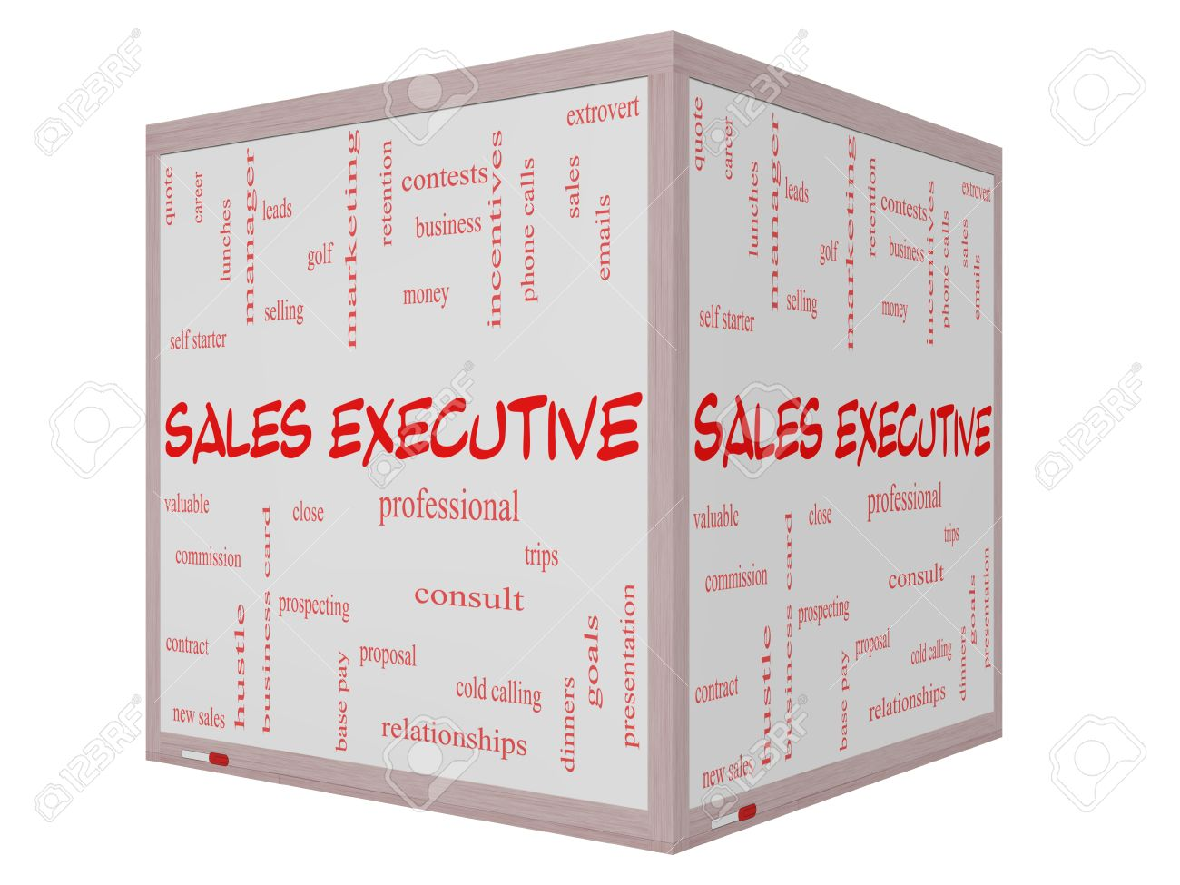 s executive word cloud concept on a 3d cube whiteboard s executive word cloud concept on a 3d cube whiteboard great terms such as quote