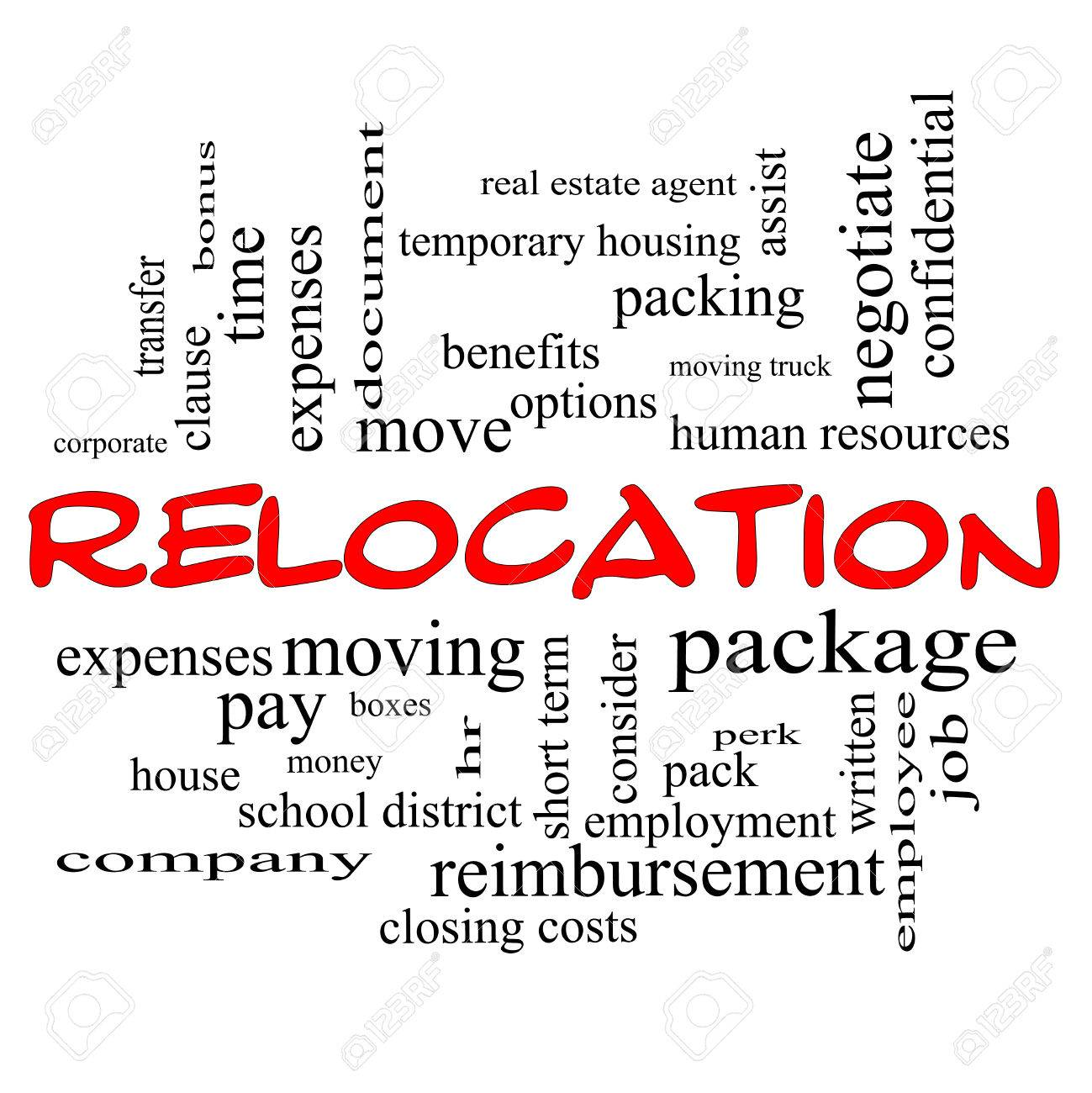 relocation word cloud concept in red caps great terms such relocation word cloud concept in red caps great terms such as package moving
