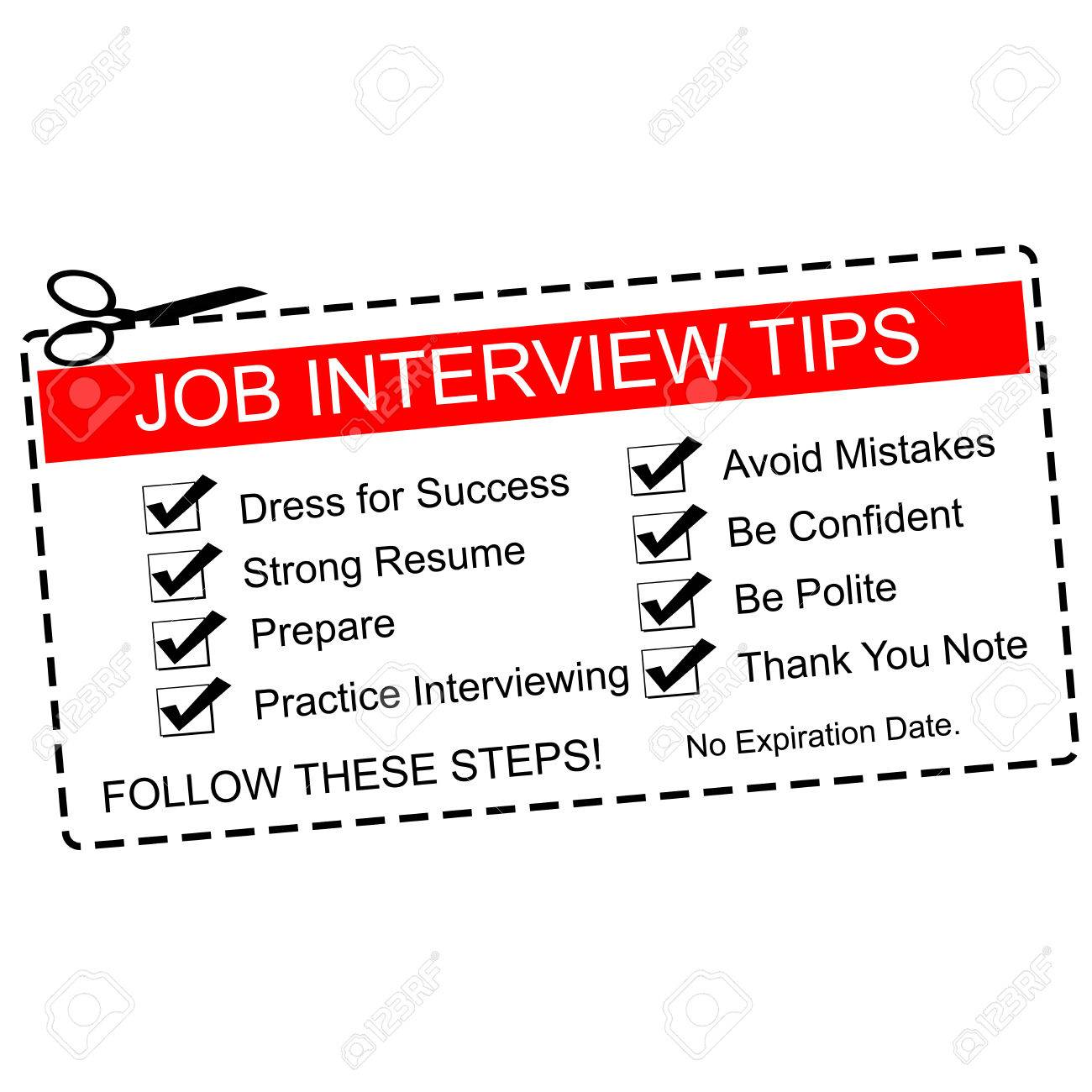 a red and white job interview tips coupon great terms such a red and white job interview tips coupon great terms such as dress for success