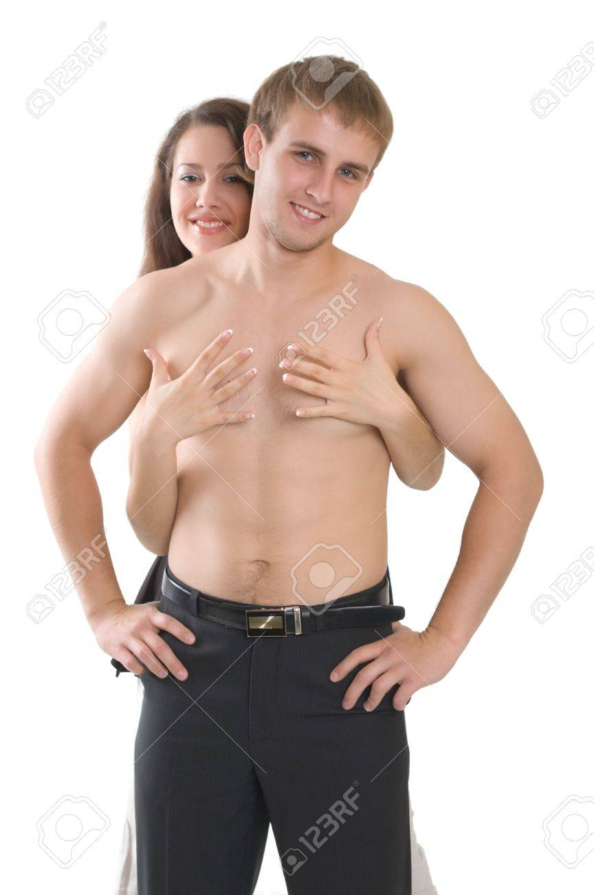 A Boy And Girl Naked half naked boy and girl