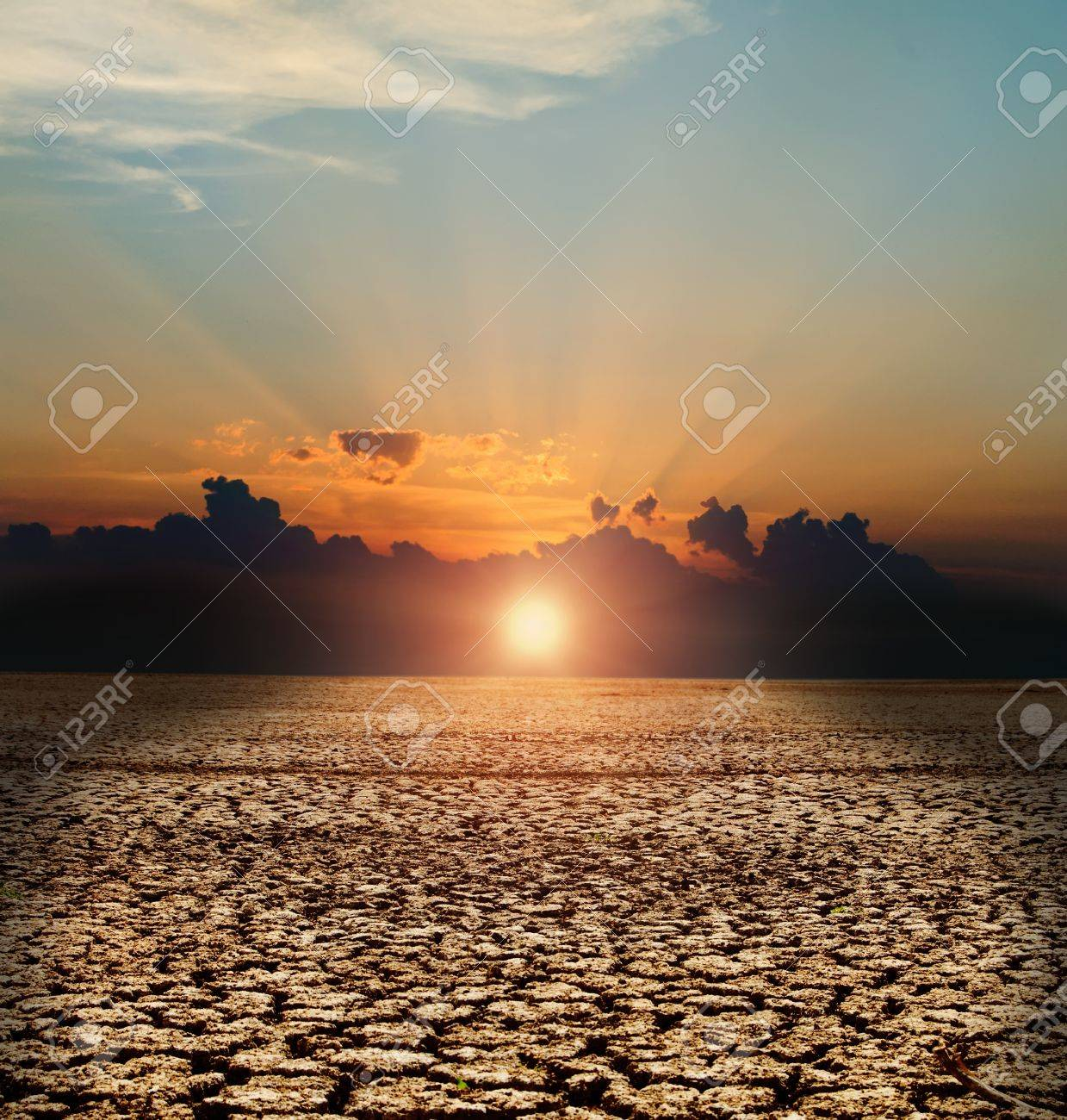 natural disaster. arid climate Stock Photo - 8525292