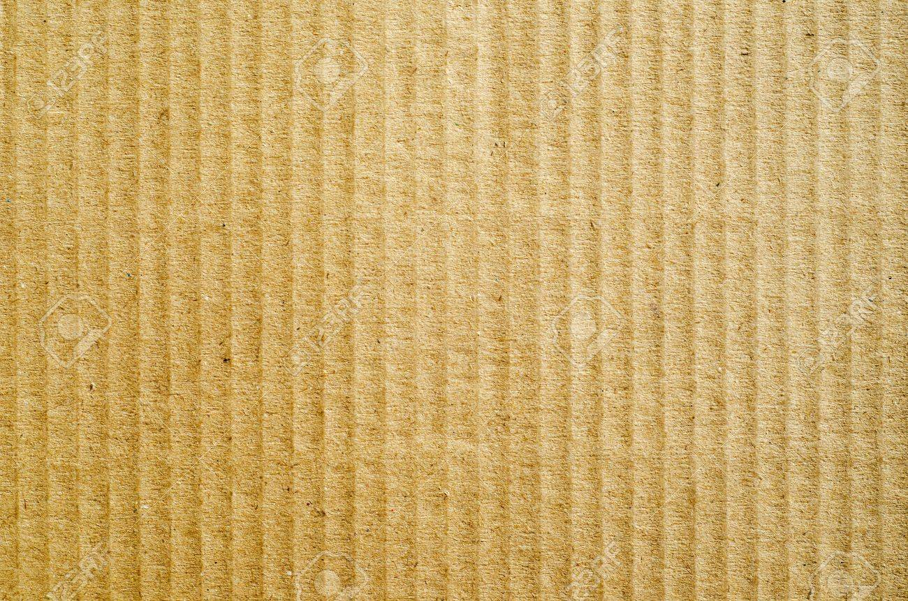 brown corrugated cardboard as background stock photo picture and