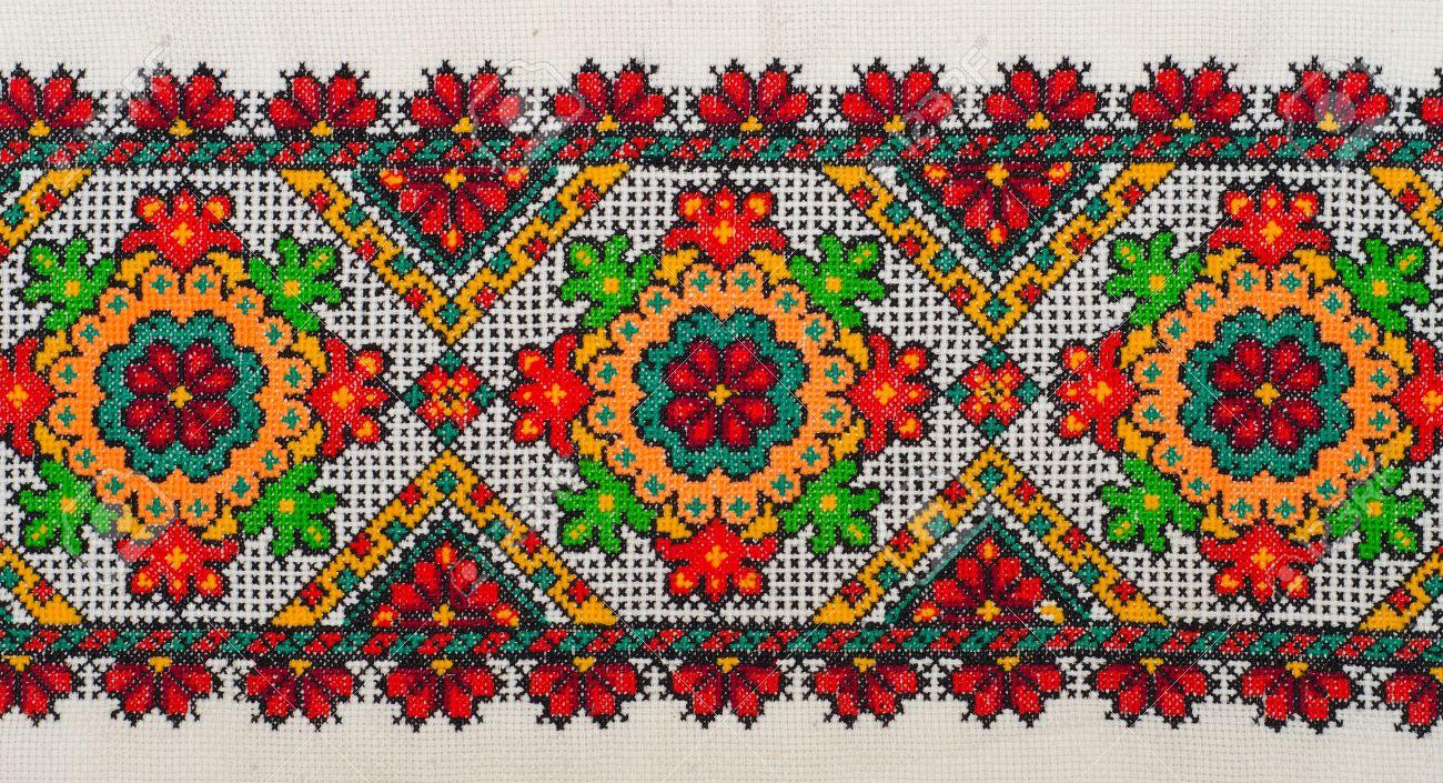 Узоры в украинских вышивках 939