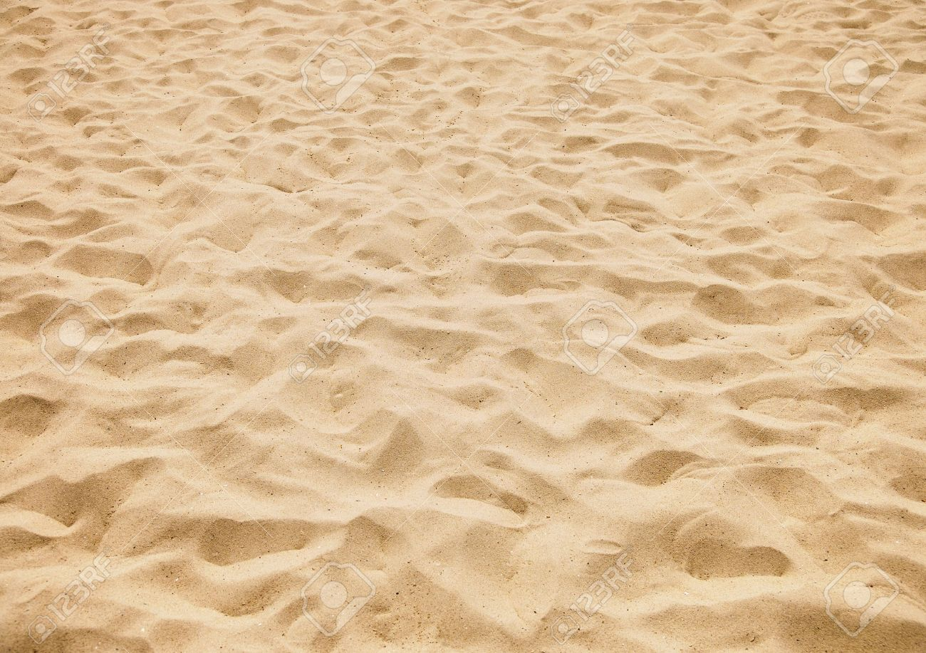 texture of yellow sand on the beach - 11772967