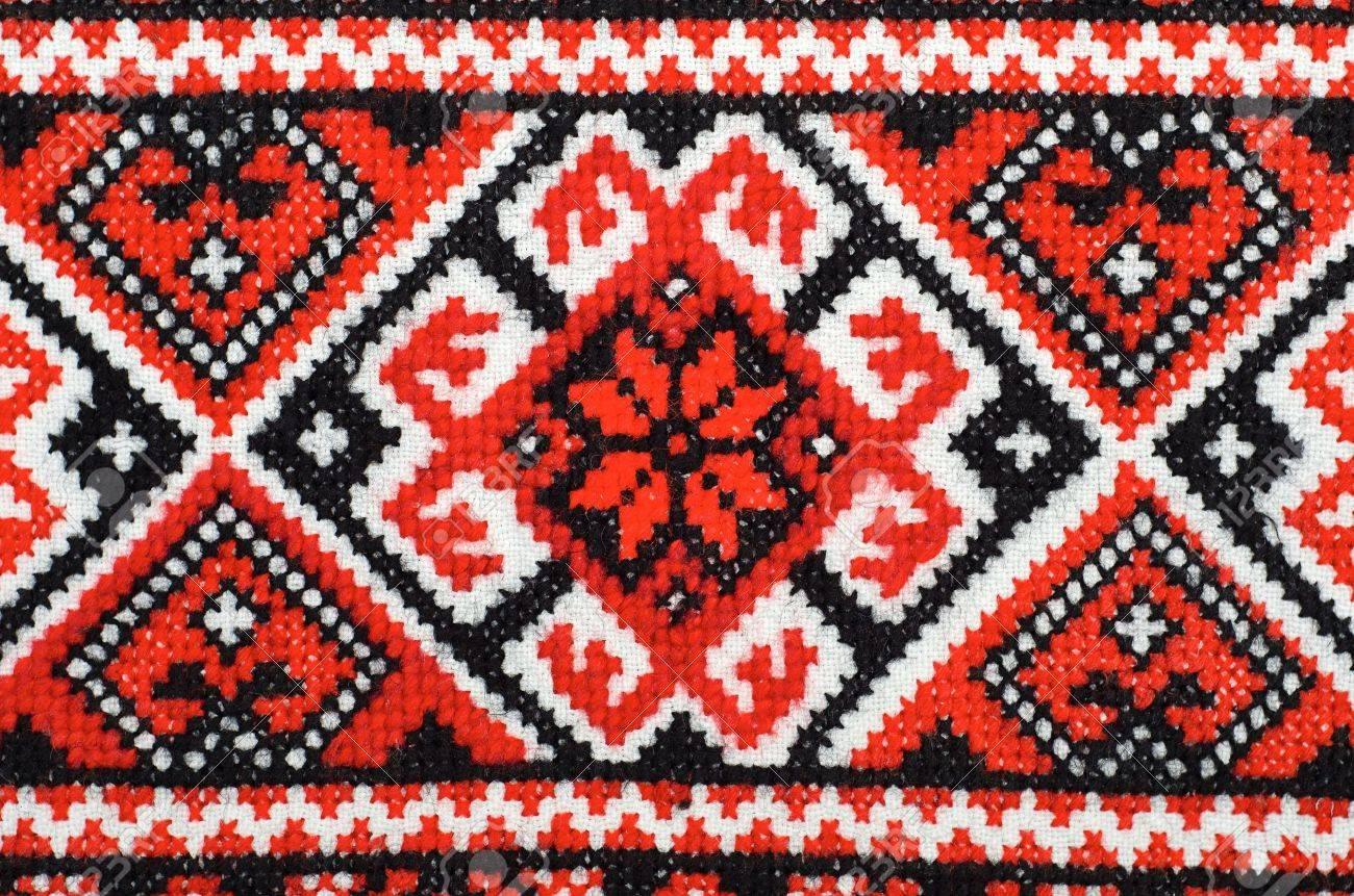 Украинская вышивка крестом это