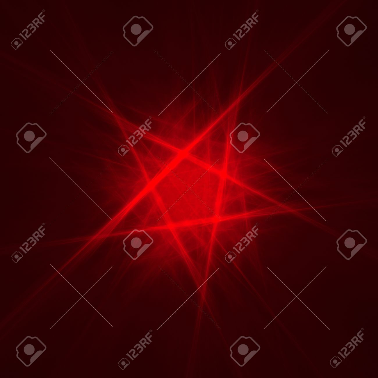 abstract pentagon background on dark  fractal rendered Stock Photo - 16218596