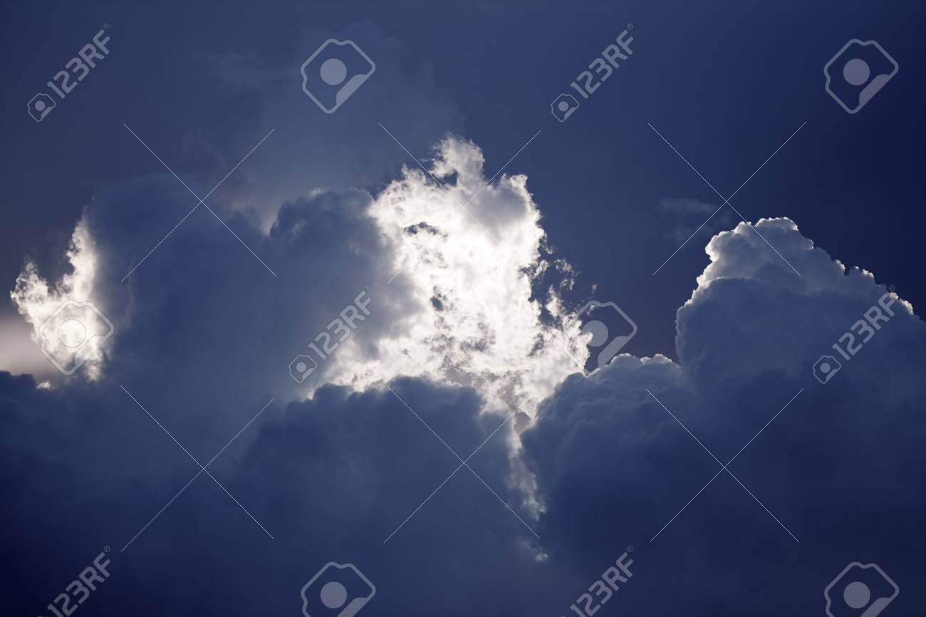 dramatic sky in the evening Stock Photo - 13422107