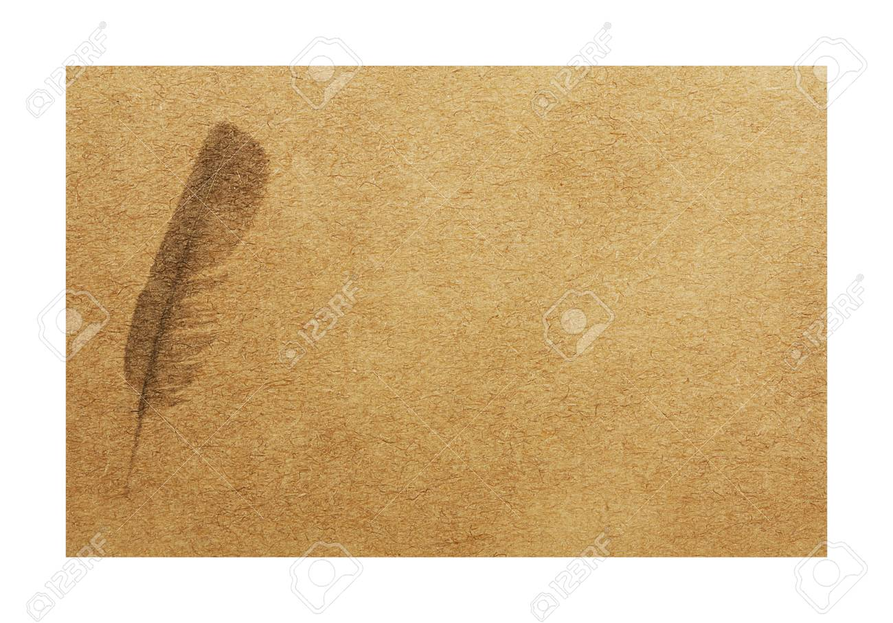Vintage mockup business card with printed feather watermark on stock photo vintage mockup business card with printed feather watermark on white format iso 7810 id 1 colourmoves