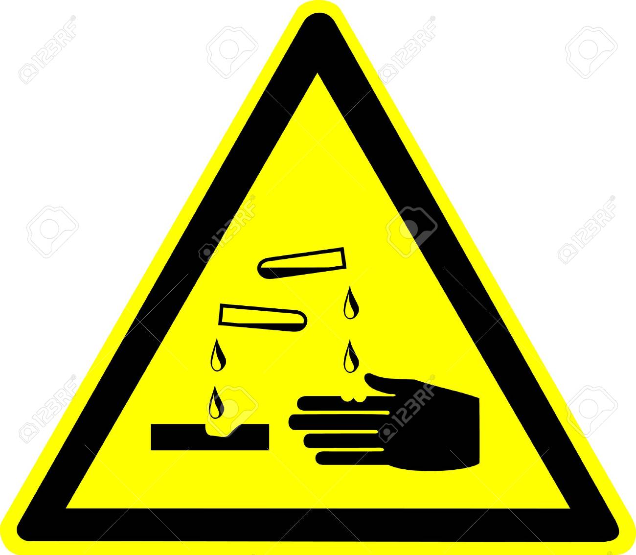 warning sign Stock Photo - 10645699