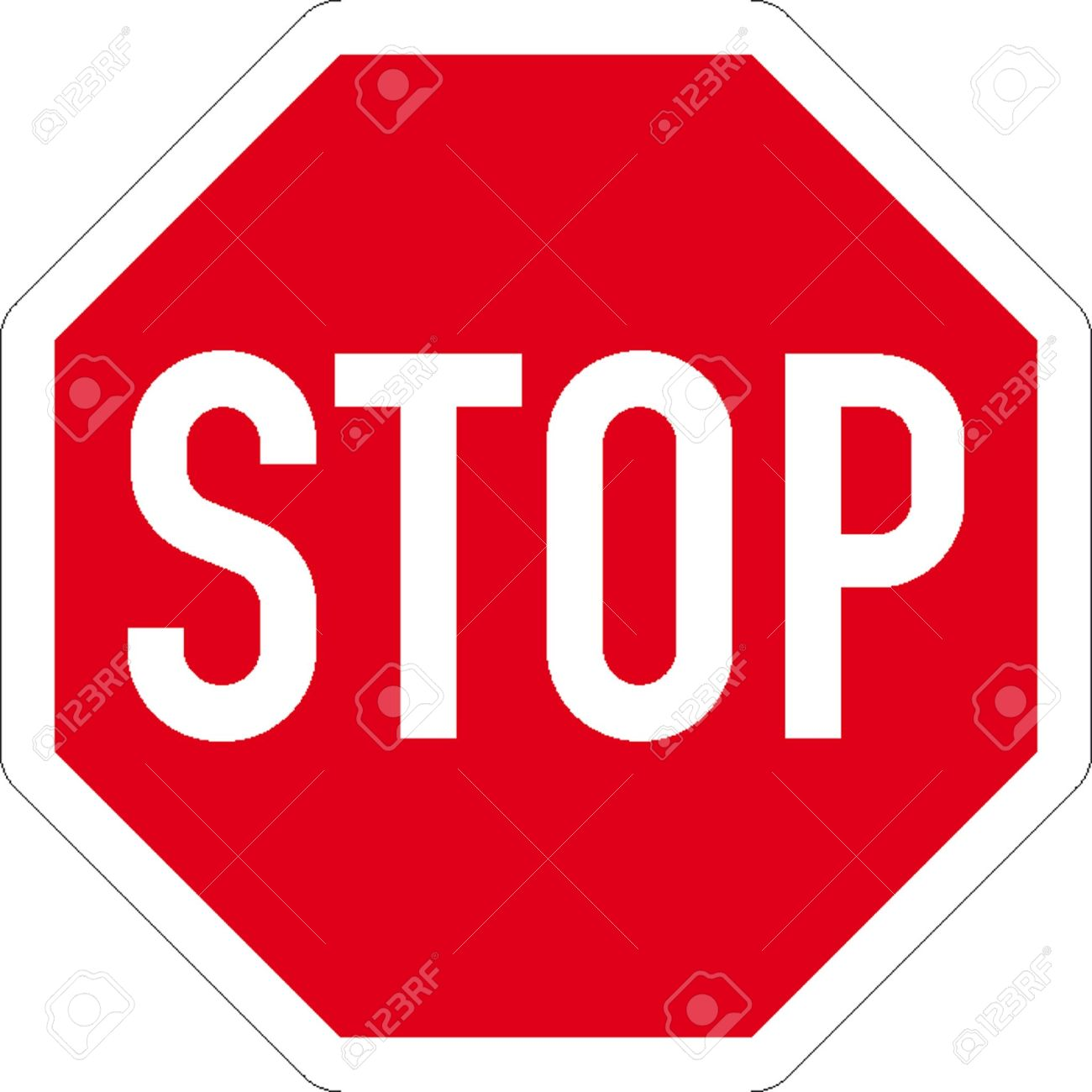 Emergency stop icon clipart emergency off - Emergency Stop Traffic Signs Illustration