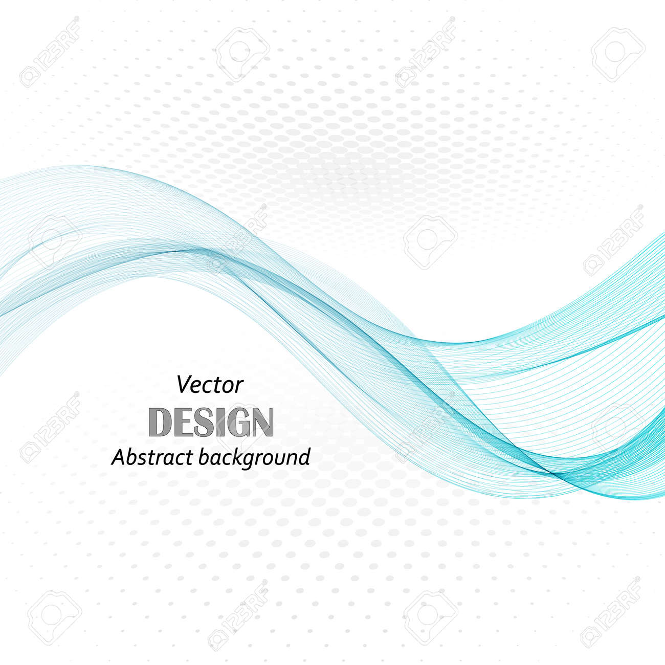 abstract blue business technology colorful wave vector background eps10 - 144098546