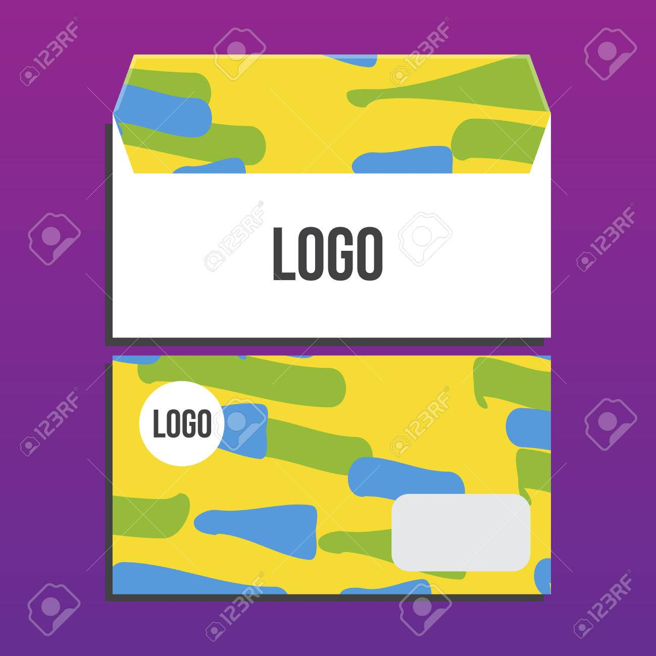 Envelope Template Summer Games Colors Of Brazil Corporate