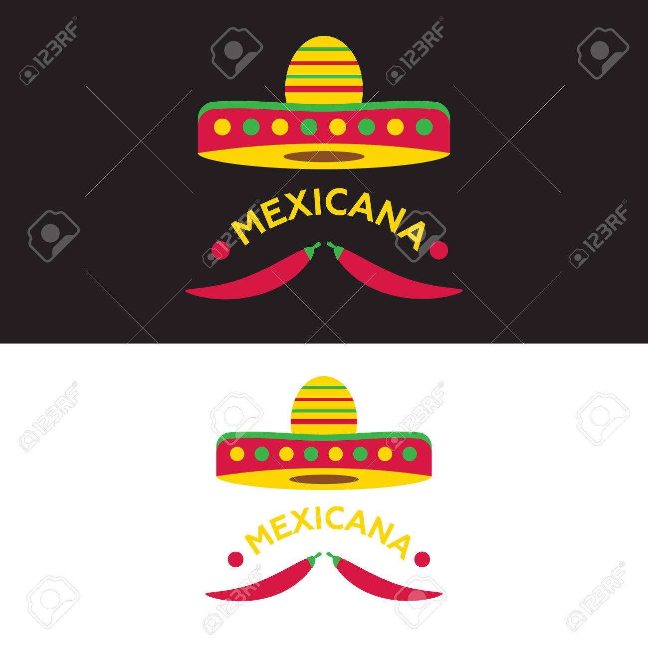 Mexican Food Logo Mexican Fast Food Logotype Template Vector