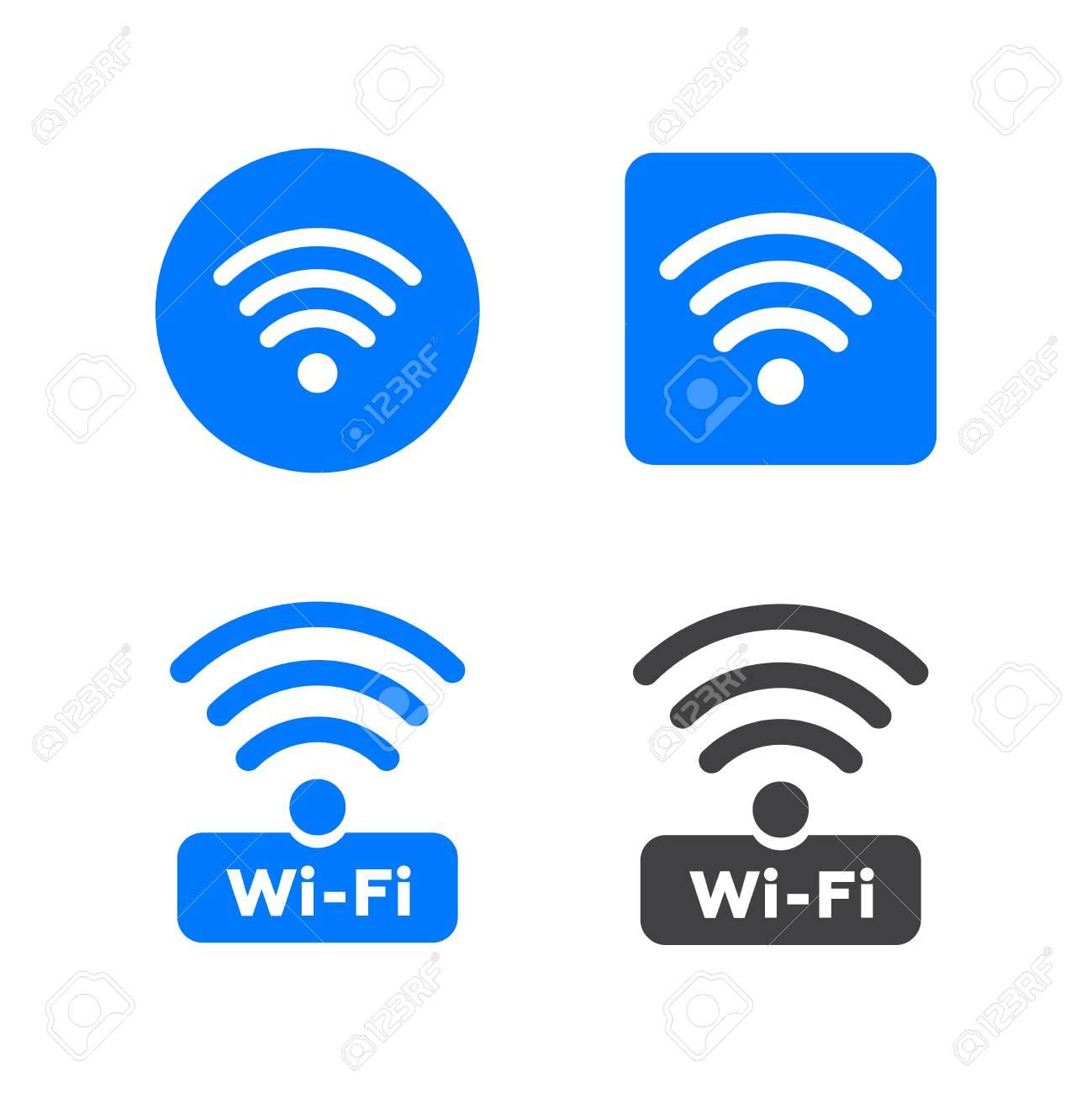 Wireless And Wireless Network Icons Wireless Network Symbol