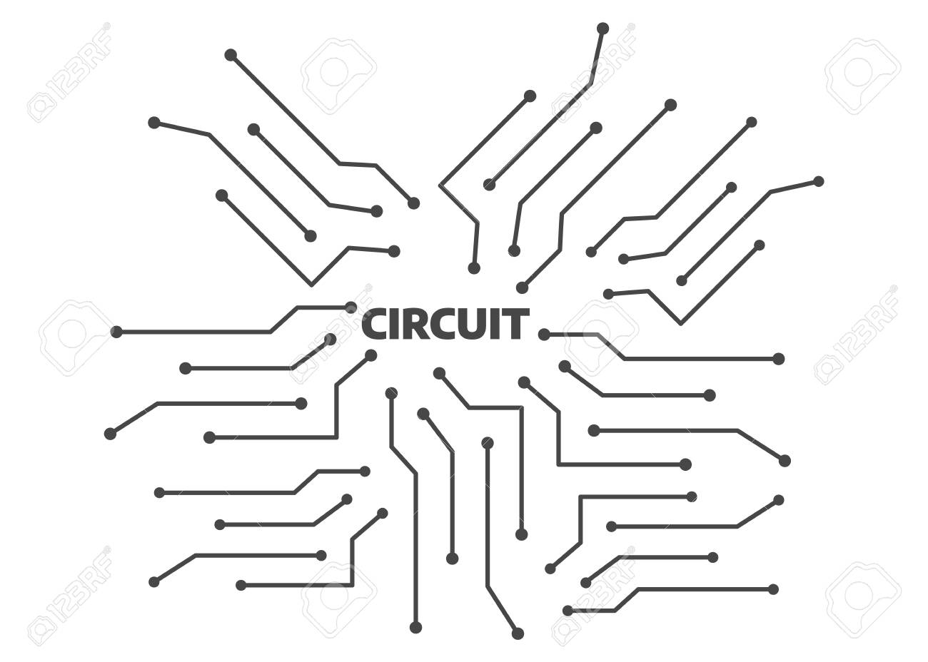 computer circuit motherboard electronic circuit vector backgroundcomputer circuit motherboard electronic circuit vector background technology circuit pattern stock vector 104983069