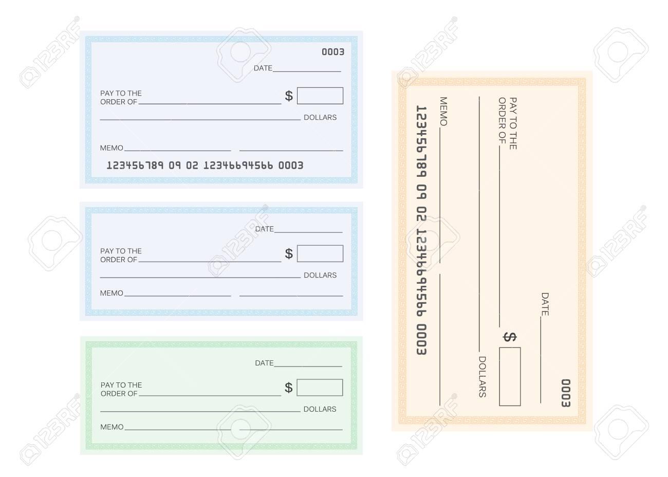 Check Template | Check Template Bank Blank Check Icon Vector Lizenzfrei Nutzbare