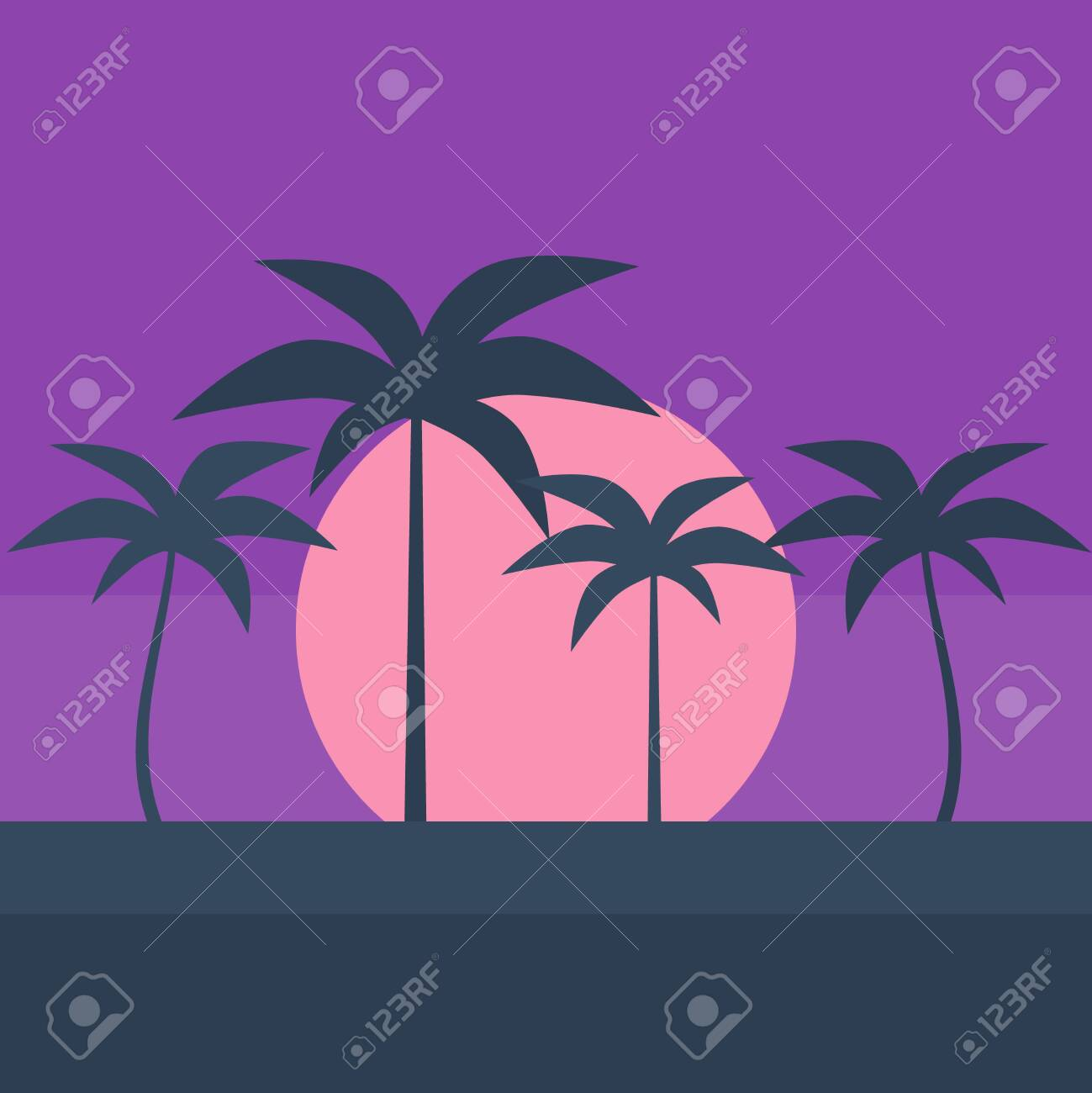 Retro Grid Background Vaporwave Background Vector Game Neon Royalty Free Cliparts Vectors And Stock Illustration Image 131458051