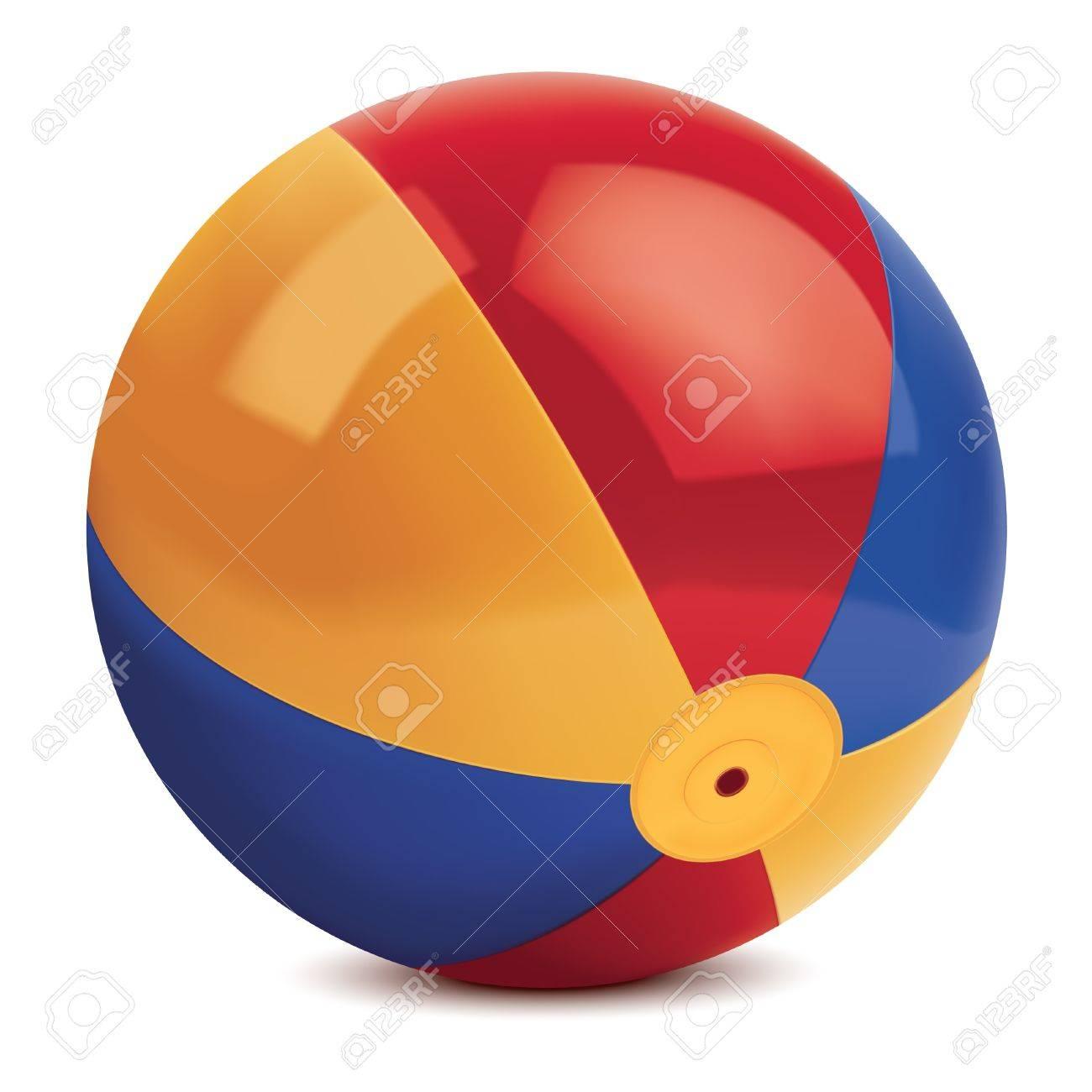 Beach ball. illustration Stock Vector - 17013481