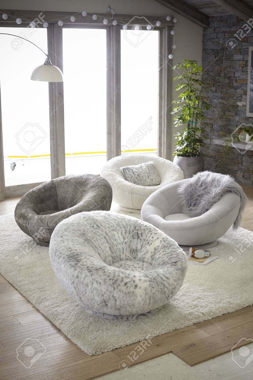 Merveilleux Love This From Plush.a Snuggle Swivel Chair! Stock Photo   92337044