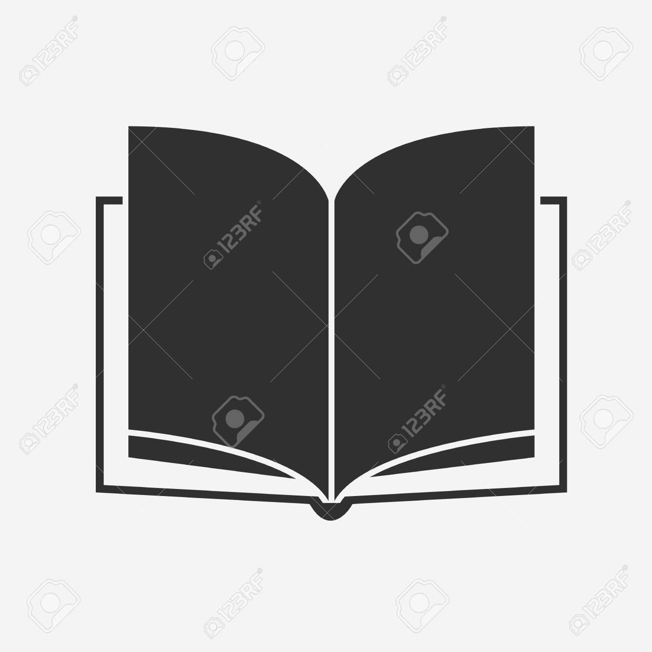 Icone Du Livre Vector