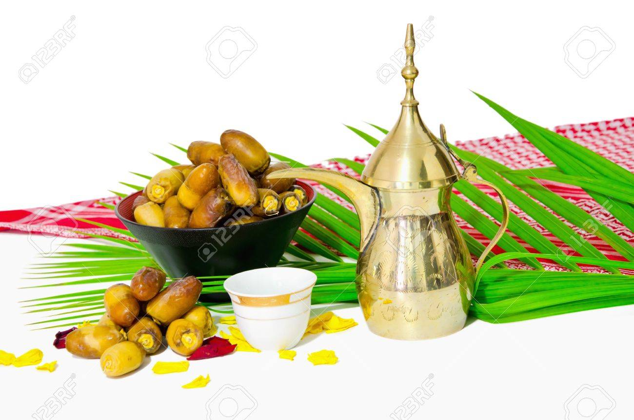 arabic coffee with date fruit Stock Photo - 9966706