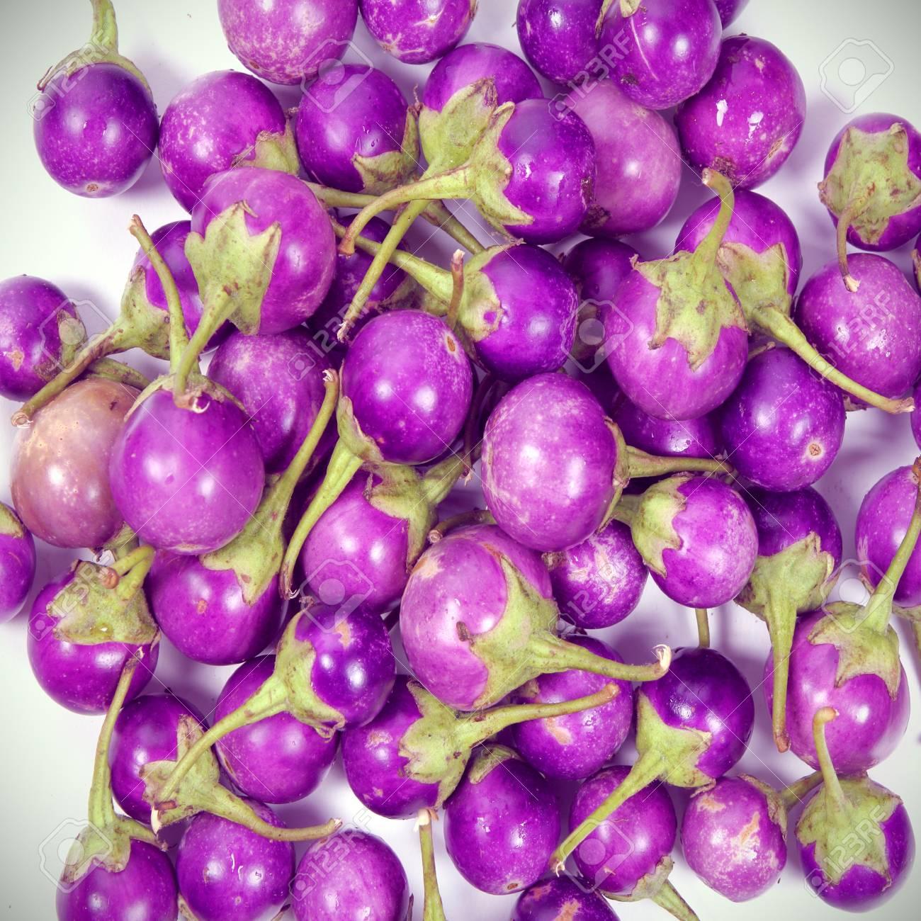 Purple eggplant for background Stock Photo - 16842970