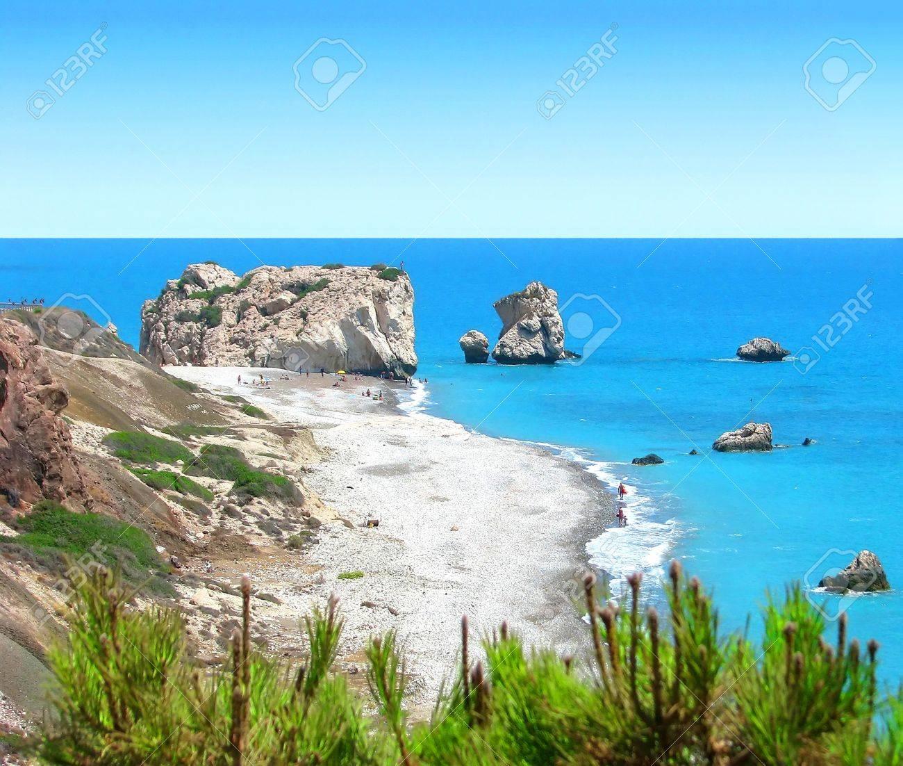 Cyprus beach Stock Photo - 12843657