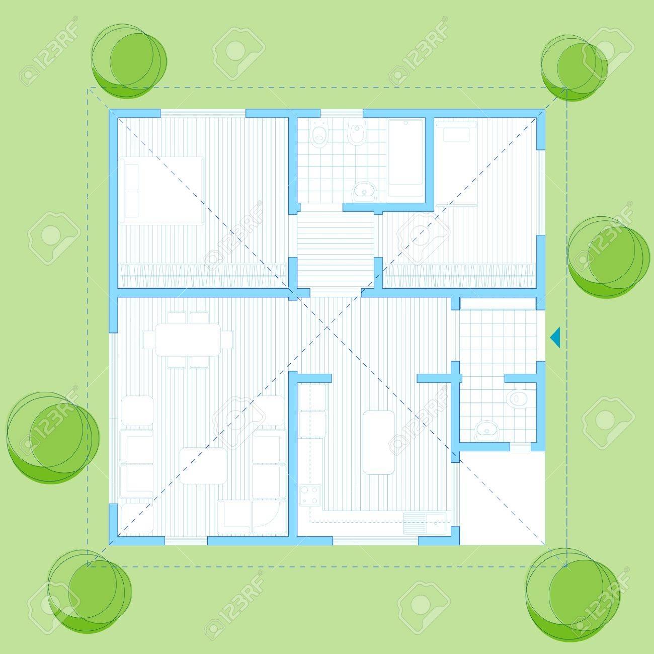 100 M2 infamilienhaus Haus Plan Lizenzfrei Nutzbare ... size: 1300 x 1300 post ID: 9 File size: 0 B