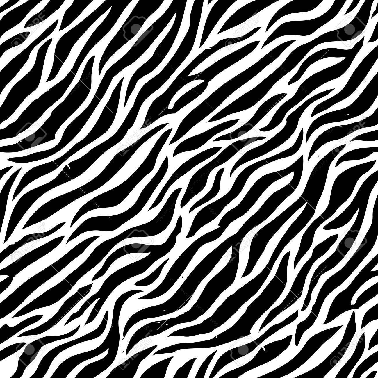 seamless colorful animal skin texture of zebra royalty free cliparts
