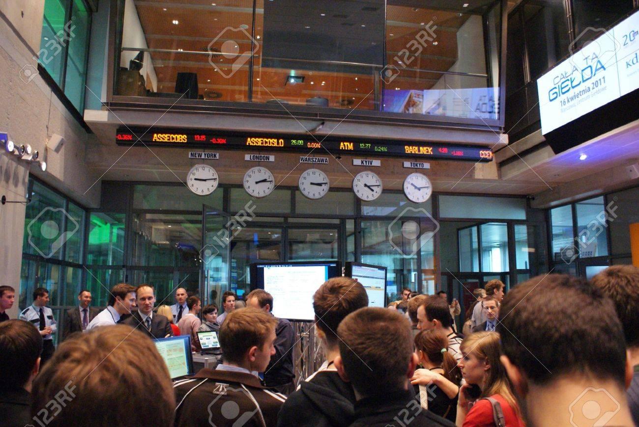 オープン日ワルシャワ証券取引所...