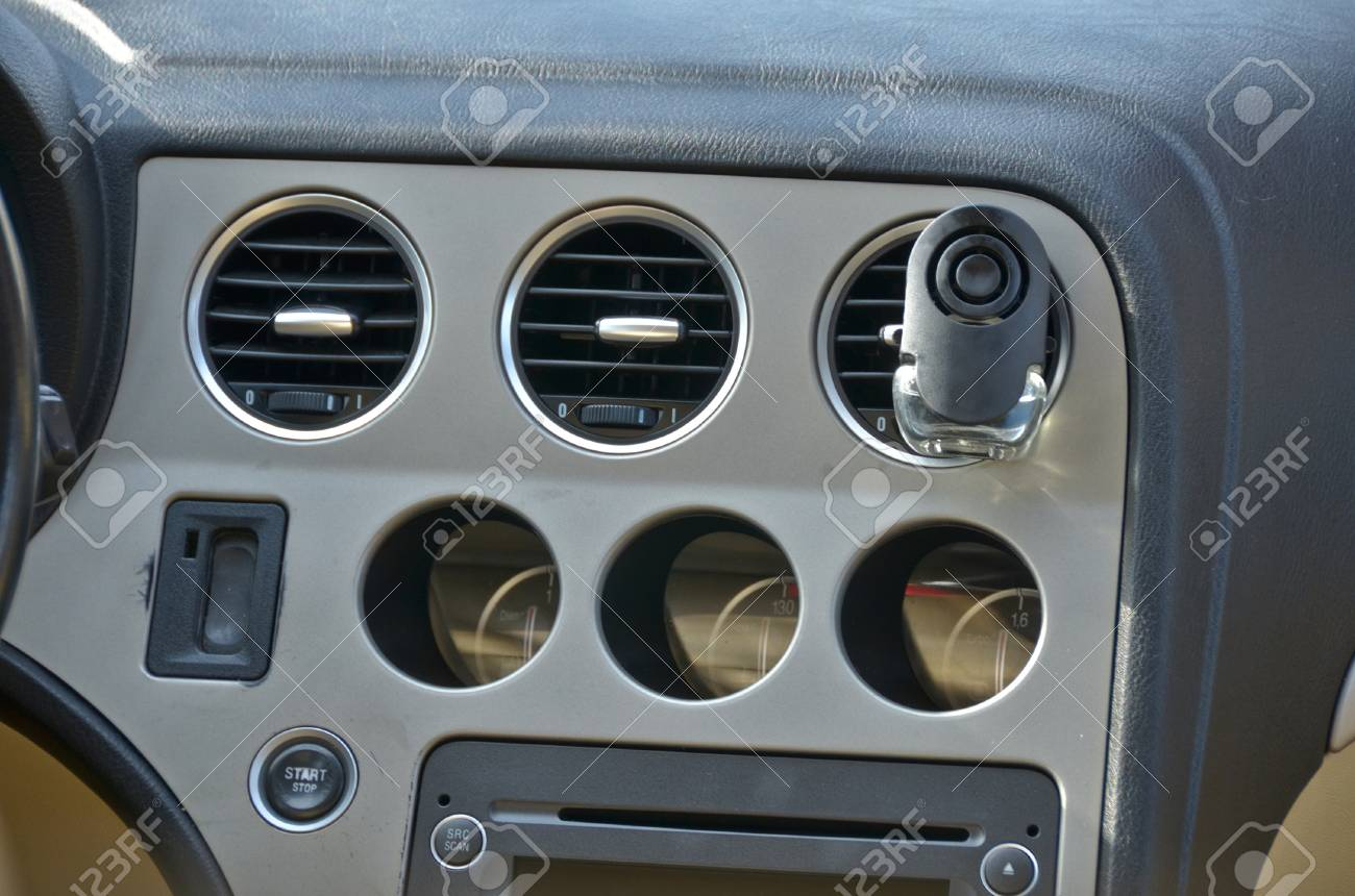 This Is A View Of Luxury Car Alfa Romeo 159 Interior Details Stock Photo Picture And Royalty Free Image Image 37658122