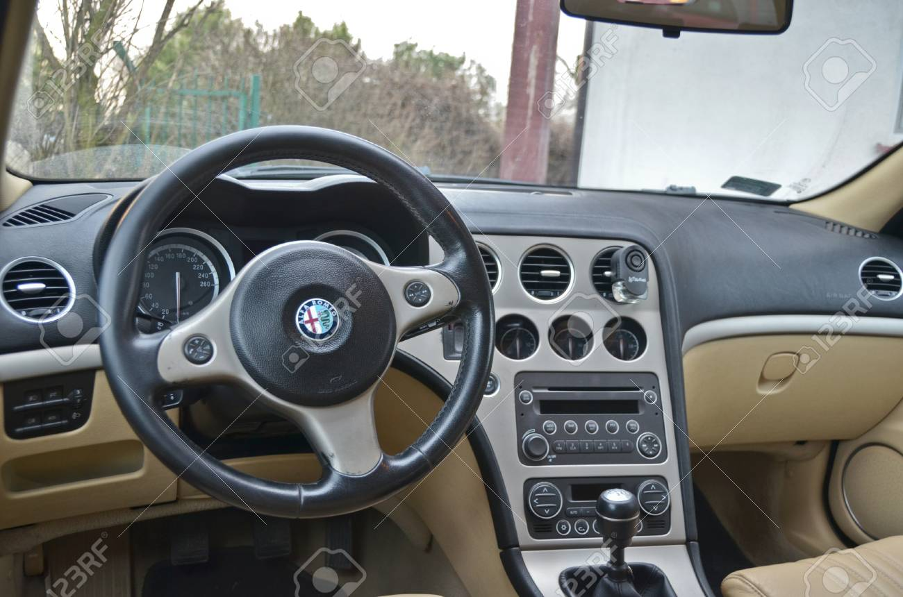 This Is A View Of Luxury Car Alfa Romeo 159 Interior Details Stock Photo Picture And Royalty Free Image Image 37658149