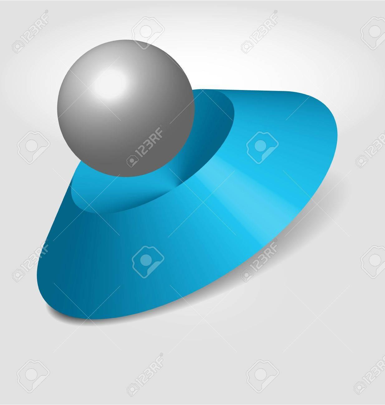 abstract logo design (3D) Stock Vector - 15593569