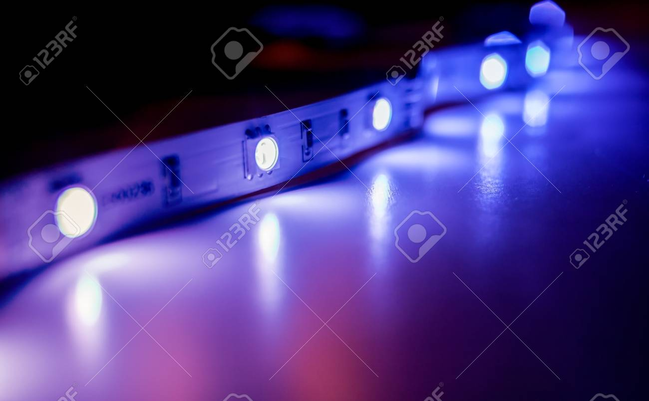 Led strip lights isolated on black and white background stock photo led strip lights isolated on black and white background stock photo 85484147 aloadofball Gallery
