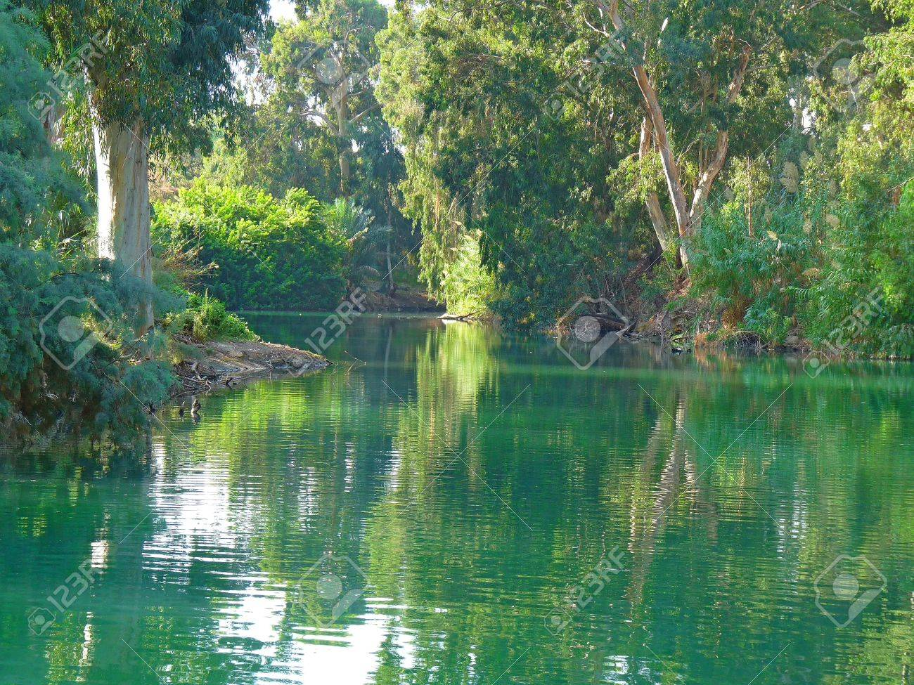 the magical jordan river place of the baptism of jesus christ