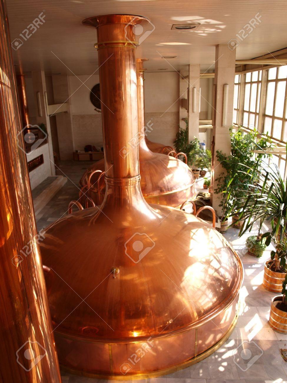 Malthouse at the Budvar brewery, Ceske Budejovice, Czech Republic Stock Photo - 15131911