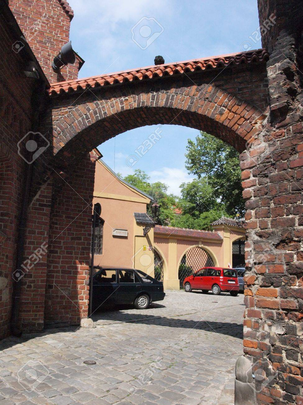 So called Noodle Gate, Wroclaw, Poland Stock Photo - 15619628