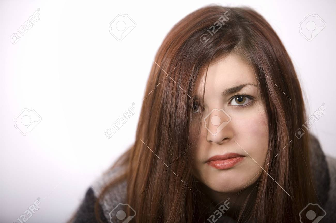 a pretty girl looking at the camera Stock Photo - 2641690