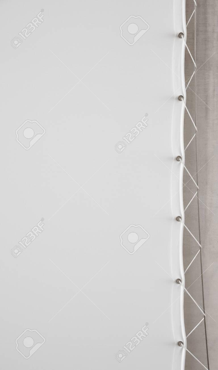 white flag background - 129192428