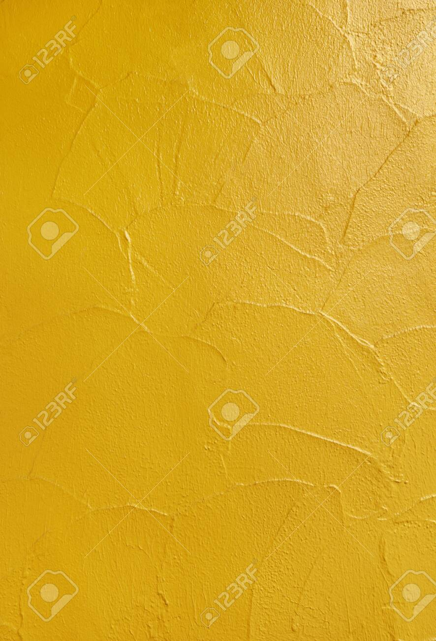 yellow wall background - 129192427